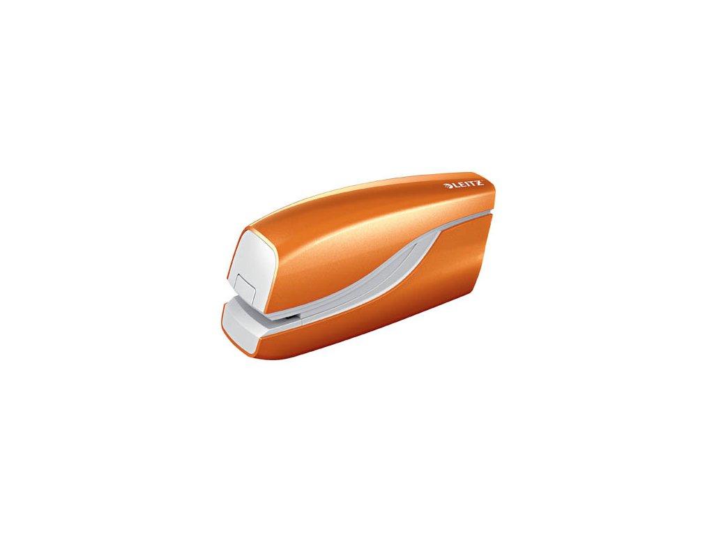 Kancelářský sešívač elektrický Leitz WOW 5568 - oranžová
