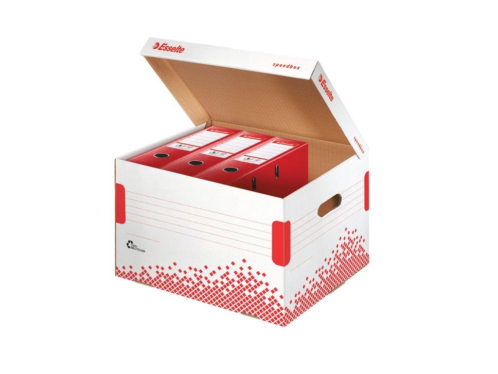Archivní kontejner Esselte Speedbox - na pořadače