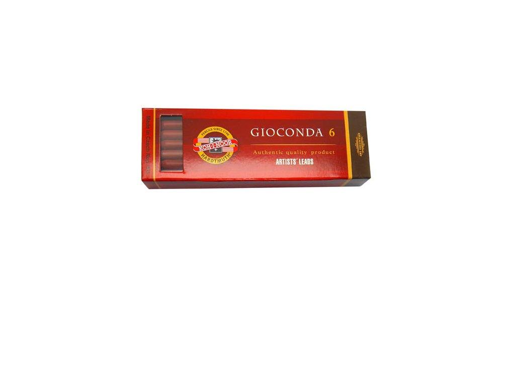 Umělecké uhly - umělý uhel 4373 / hnědočervená / 6 ks