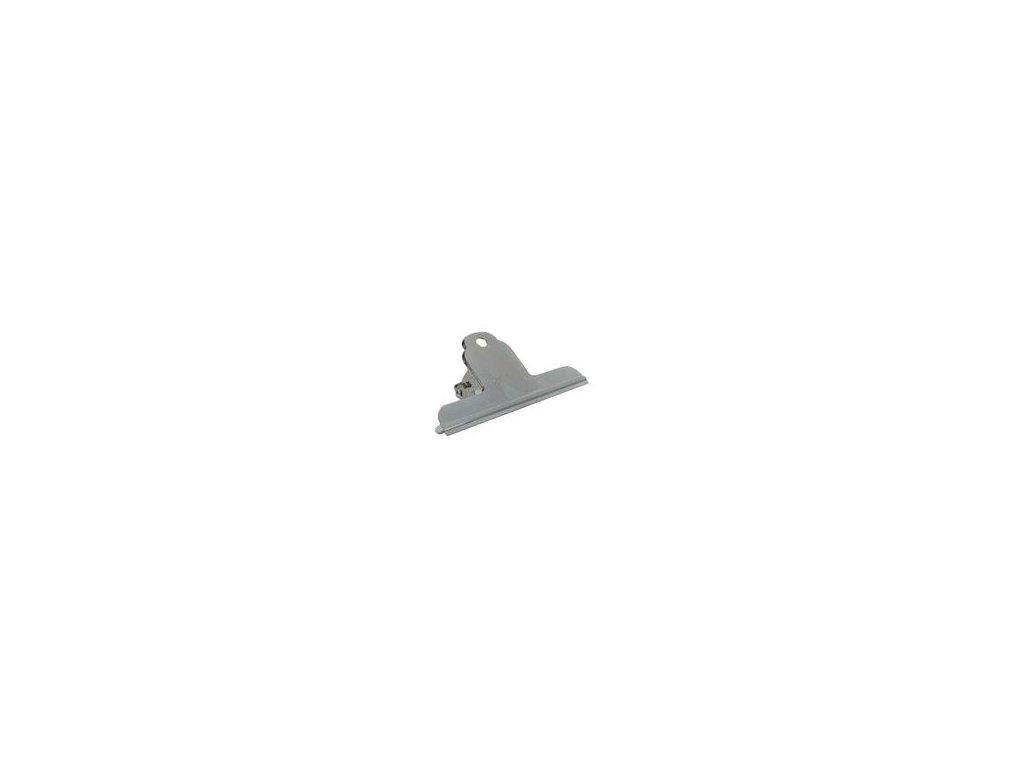 Klipy kovové stříbrné - 100 mm