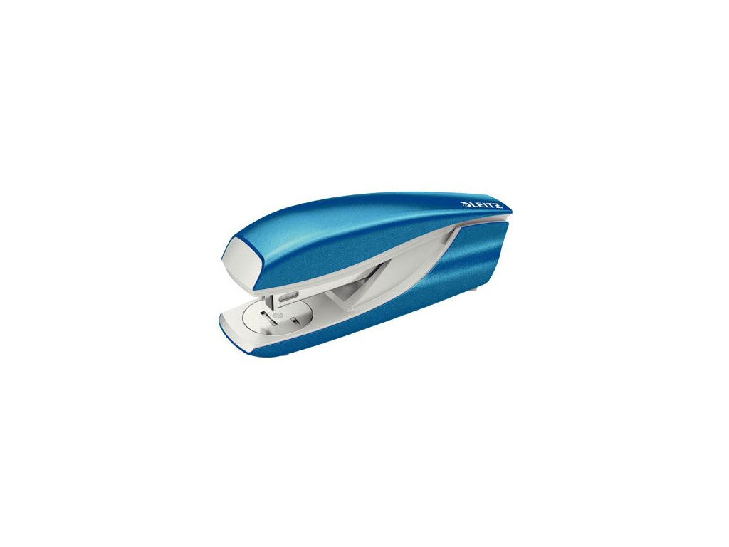 Kancelářský sešívač Leitz 5502 - metalická modrá