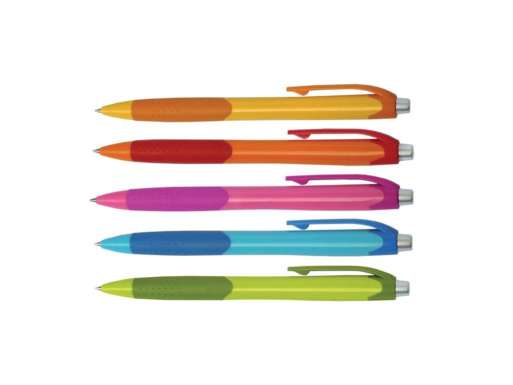 Kuličkové pero Fruity - barevný mix