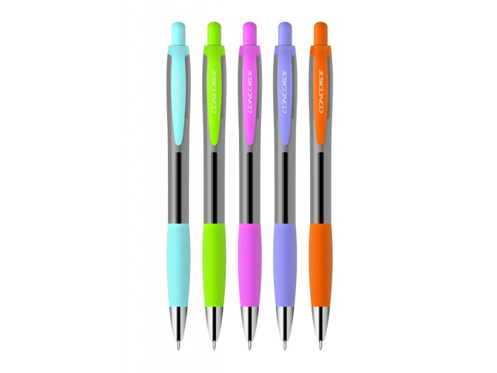 Kuličkové pero Concorde Linda - barevný mix