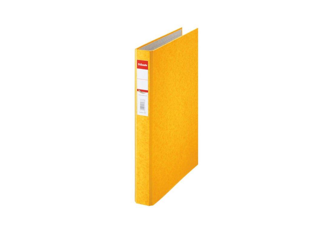 Pořadač A4 kroužkový Rainbow - 2 - kroužek / žlutá