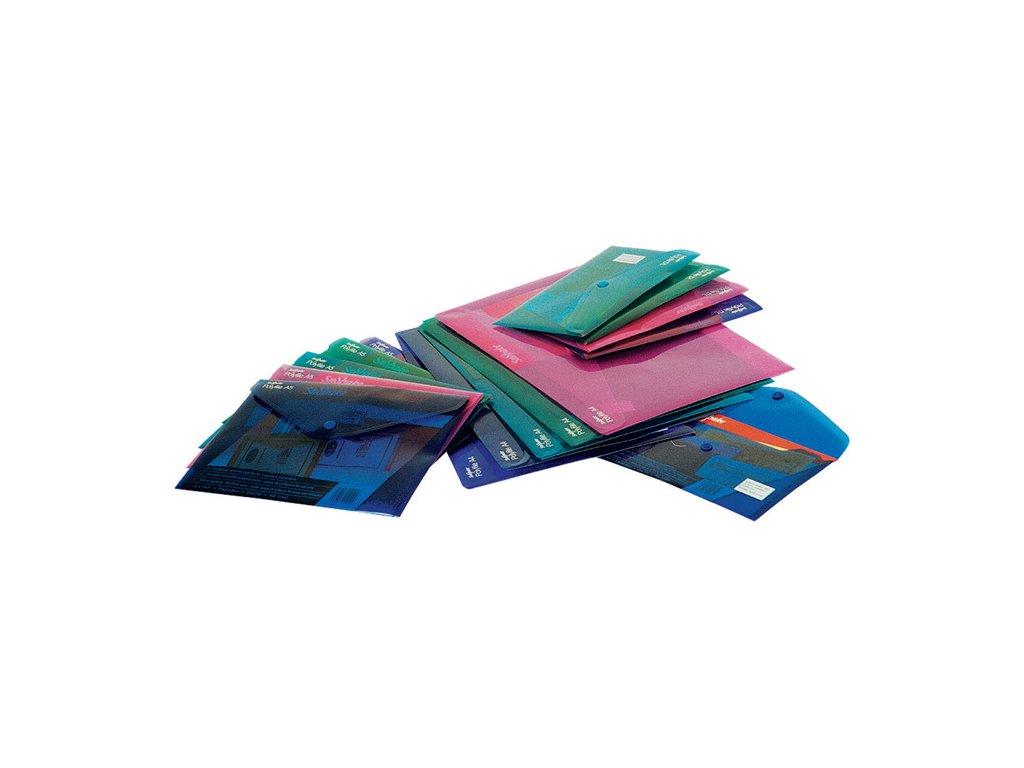 Spisové desky s drukem Electra - formát A5 / barevný mix