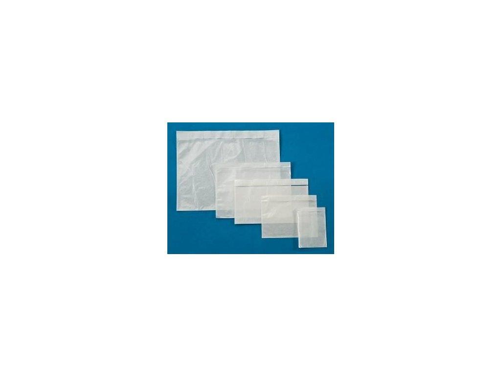Obálky samolepicí na zásilky - DL / 240 mm x 120 mm / čiré