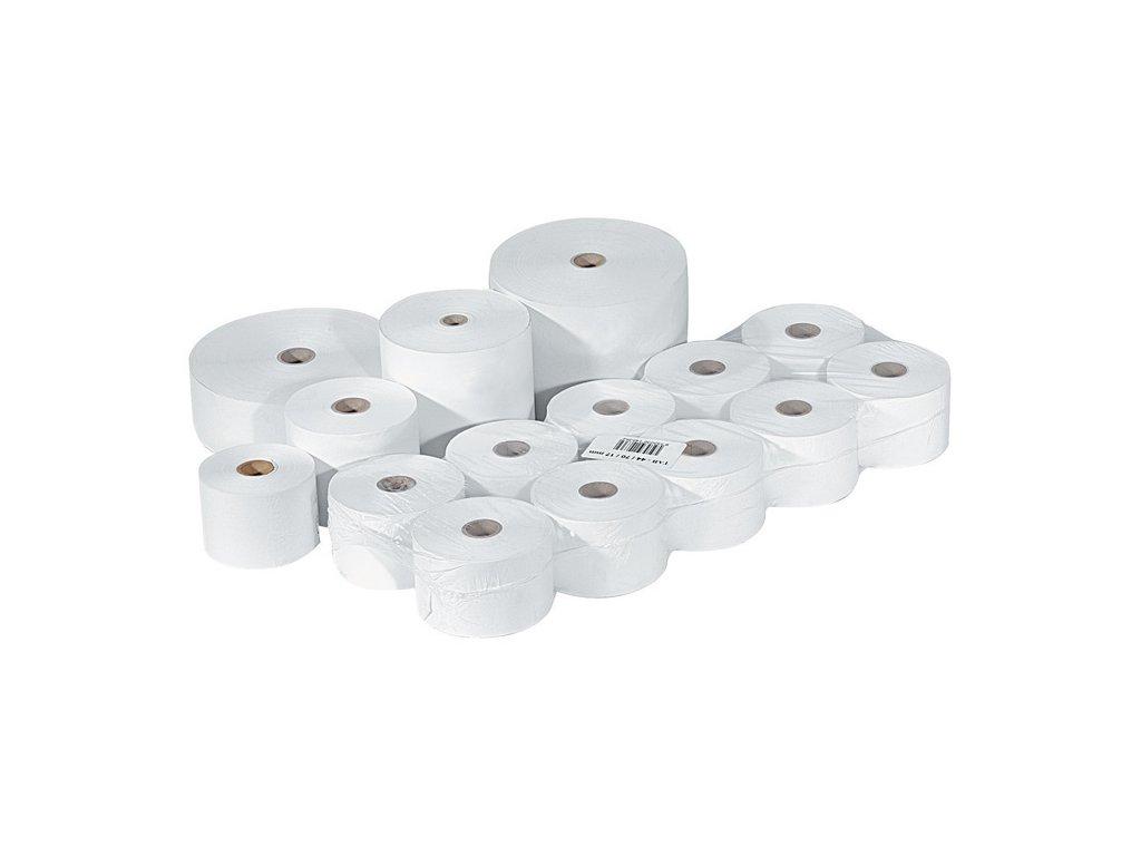 Pásky do pokladny termocitlivé - 76 mm / 60 mm / 17 mm