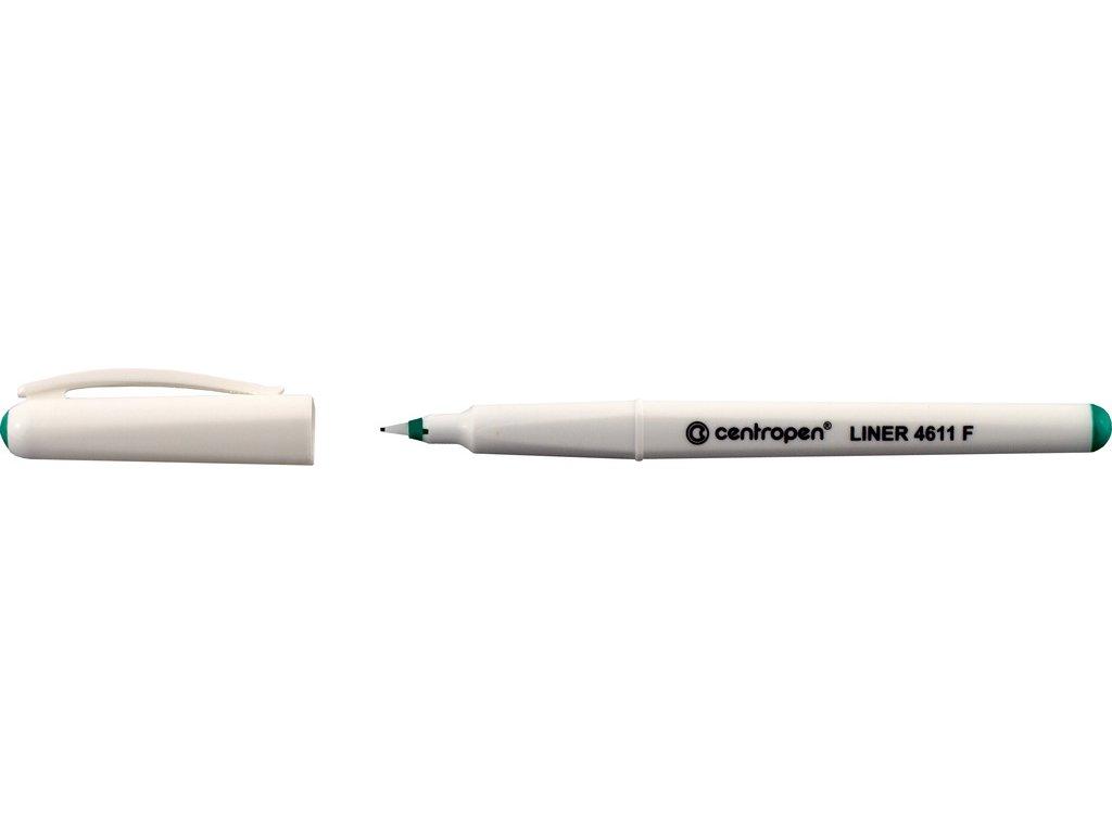 Liner Centropen 4611 F - zelená