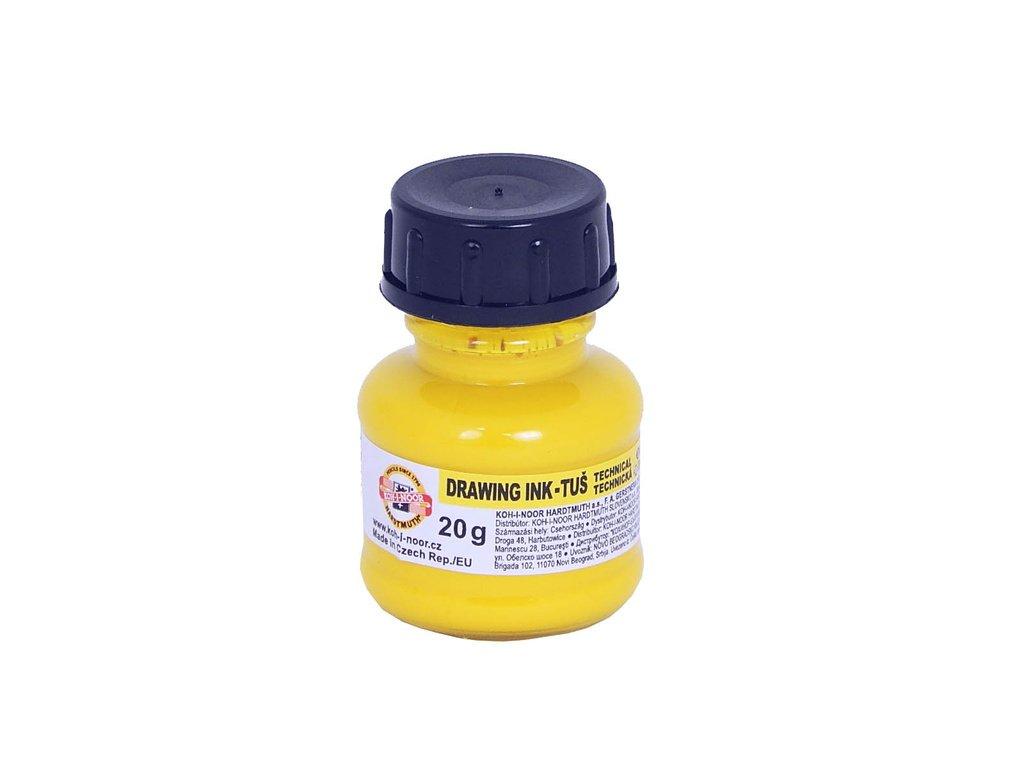 Tuše barevné - žlutá 20 g