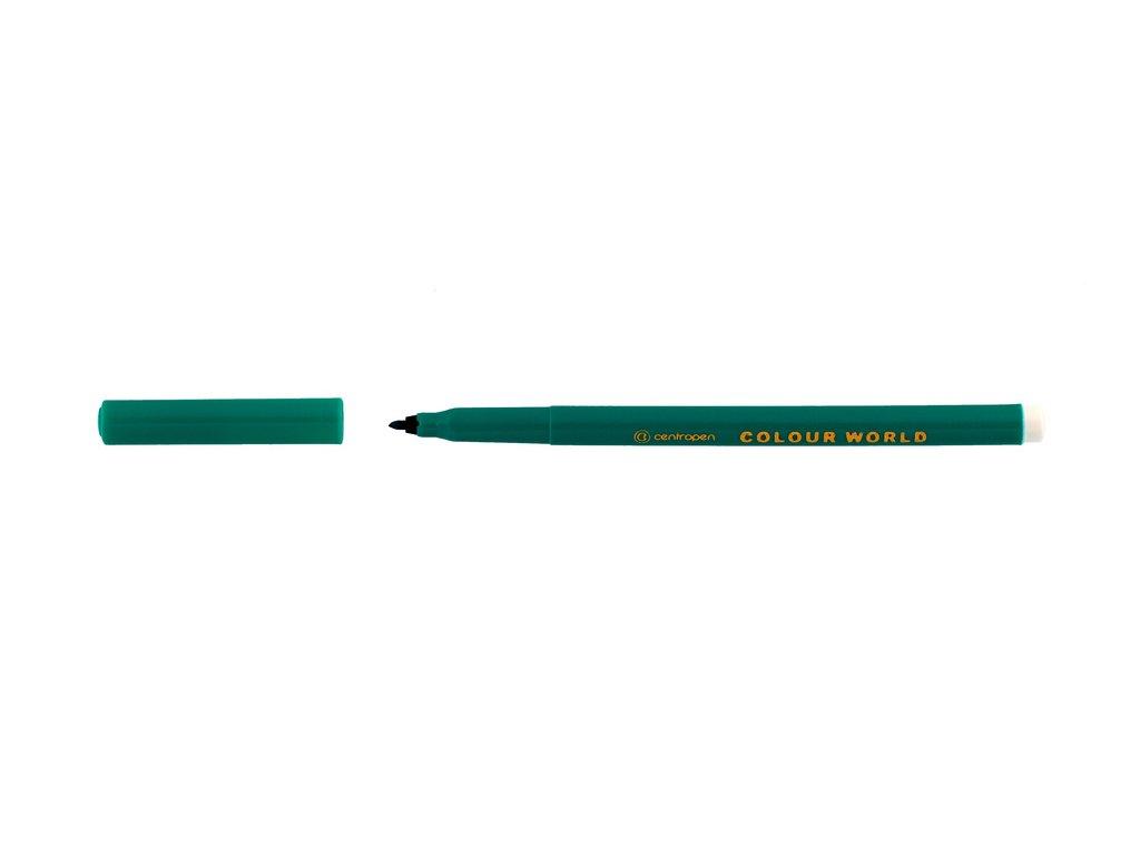 Popisovače Centropen 7550 - zelená