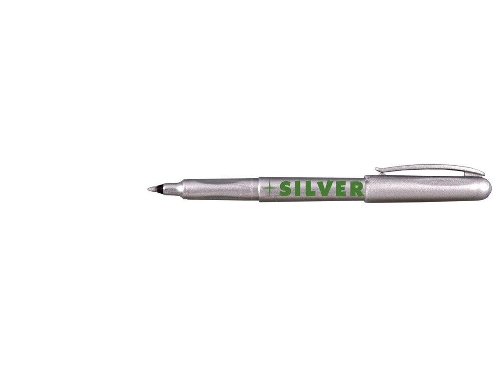 Značkovač G&S Centropen 2670 M - stříbrná