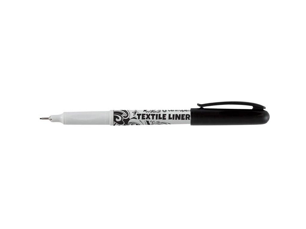 Liner TEXTILE 2639 Centropen - černá