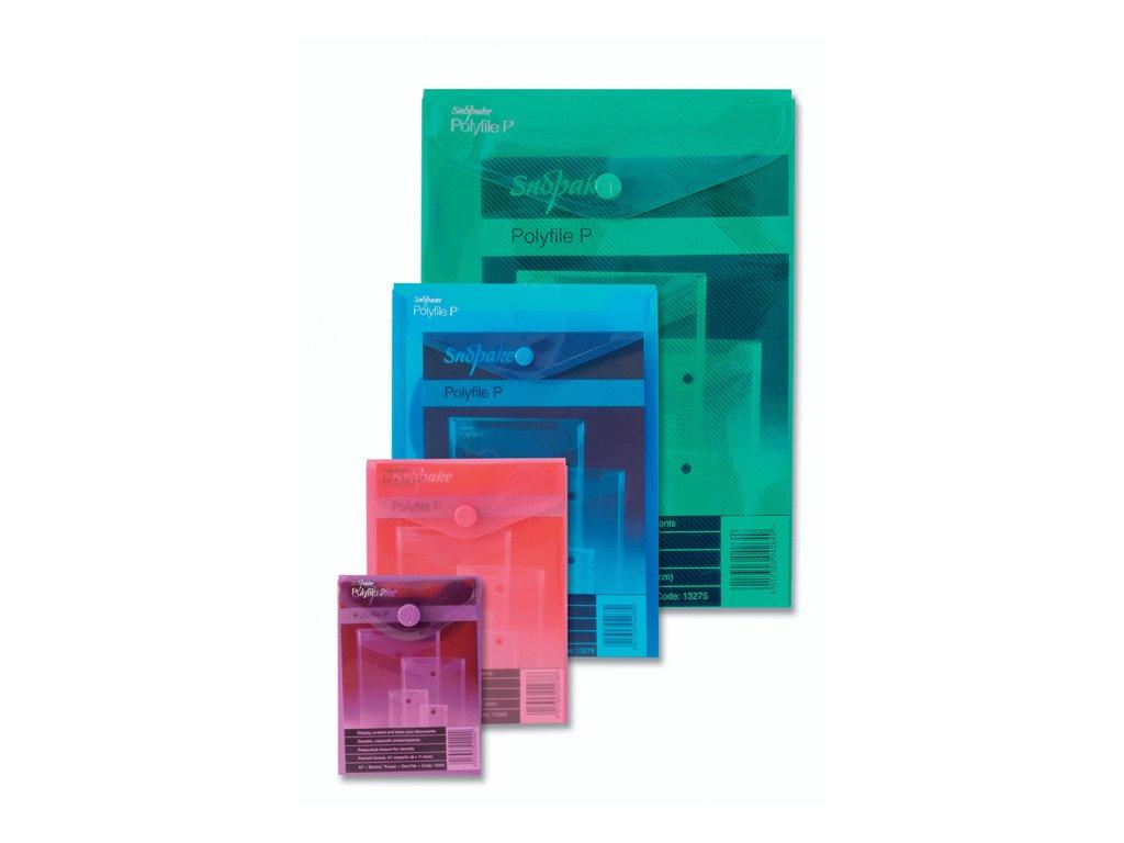 Spisové desky s drukem na výšku Electra - A4 / barevný mix