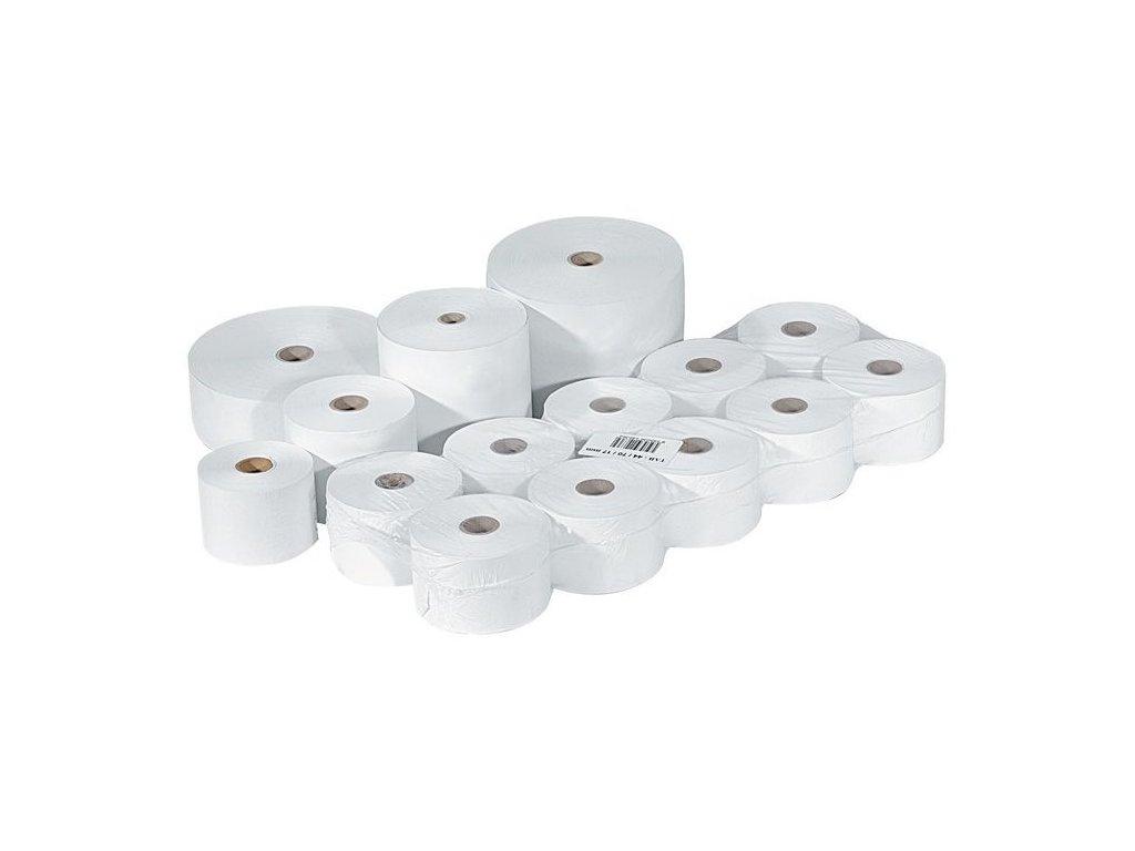 Pásky do pokladny termocitlivé - 57 mm / 40 mm / 12 mm