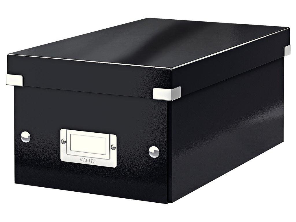Krabice Leitz Click & Store - na DVD / černá