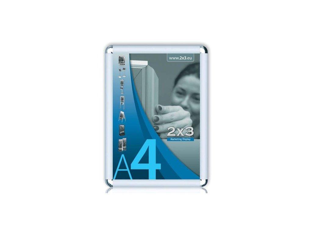 Rám na reklamu - rám na reklamu A1 kulaté rohy