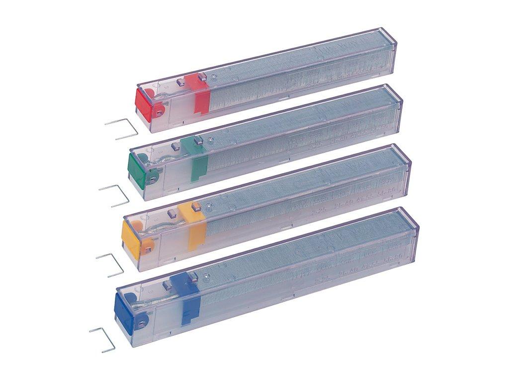 Spojovače pro velkokapacitní sešívačku Leitz - K6 (drátky 26 / 6) - 5 kazet á 210 drátků