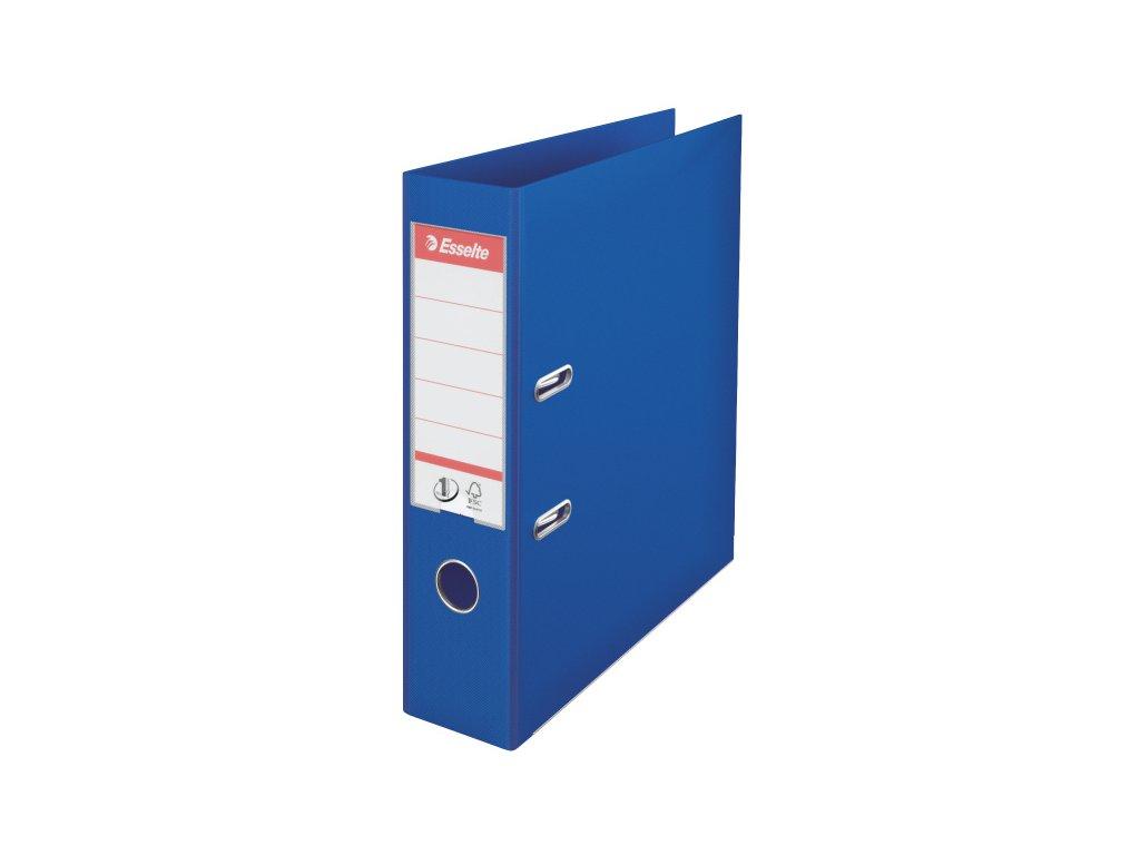 Pořadač A4 pákový celoplastový - hřbet 7,5 cm / modrá