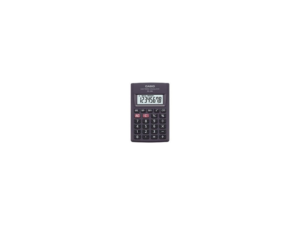 Kalkulačka Casio HL 4A - displej 8 míst
