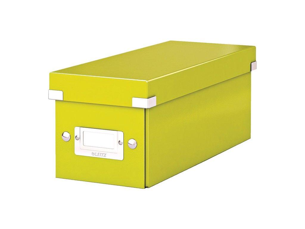 Krabice Leitz Click & Store - na CD / zelená