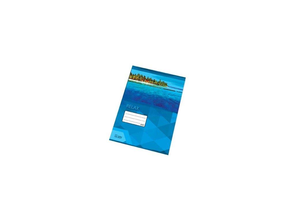 Sešity školní PREMIUM 40 listů - A4 / čistý