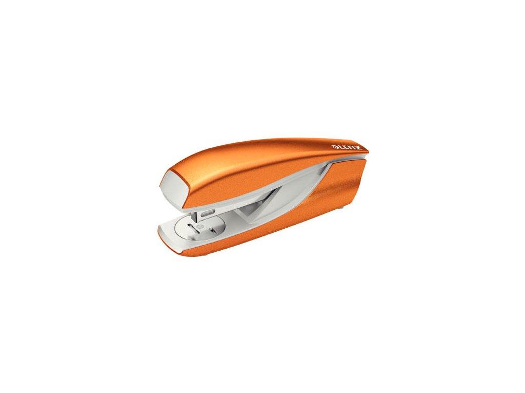 Kancelářský sešívač Leitz 5502 - metalická oranžová