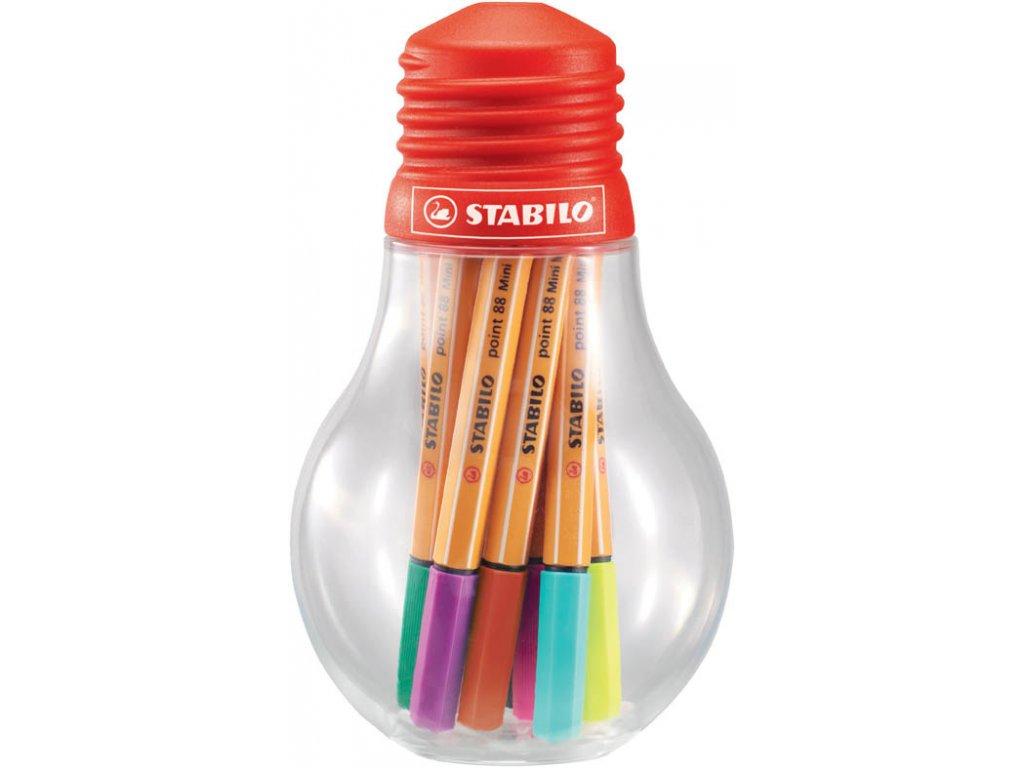 Liner STABILO® point 88® Colorful Ideas - sada 12 ks