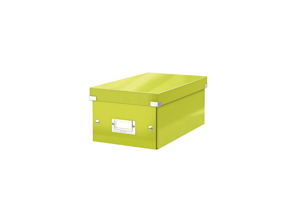 Krabice Leitz Click & Store - na DVD / zelená
