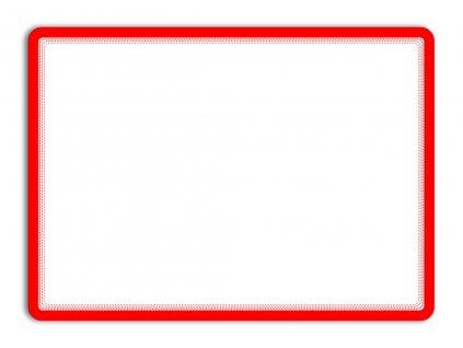Kapsy samolepicí Tarifold Magneto - A3 / červená / 2 ks