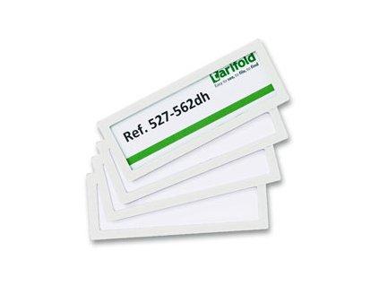 Rámeček Tarifold samolepicí - 120 x 45 / 4 ks bílá