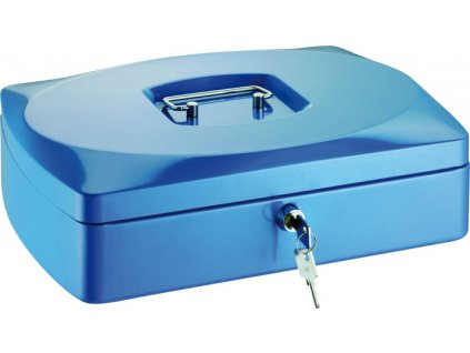 Pokladny - modrá / 85 mm x 160 mm x 205 mm
