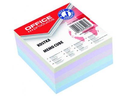 Záznamní kostky barevné Office Products - 8,5 cm x 8,5 cm x 4 cm / lepená vazba