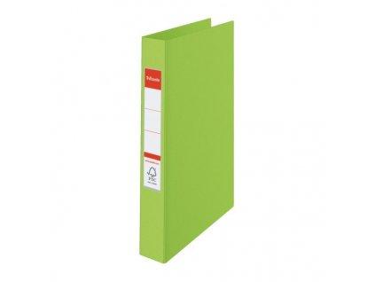 Pořadač A4 kroužkový celoplastový - 2 - kroužek / zelená