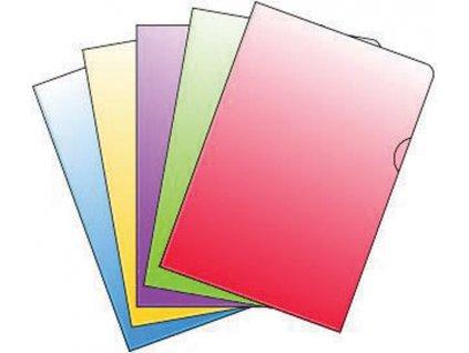 Zakládací obal barevný A4 silný - červená / 10 ks