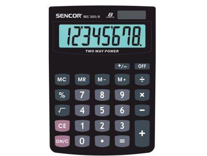 Kalkulačka Sencor - SEC 320/8 - displej 8 míst