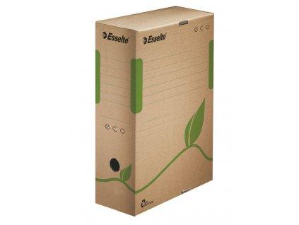 Archivní boxy ECO - hřbet 10 cm / hnědá
