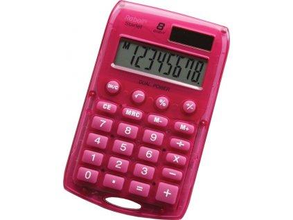 Kalkulačka Rebell Starlet 8 - růžová