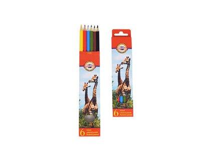 Pastelky - 6 barev