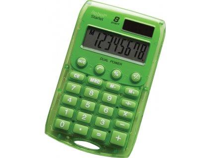 Kalkulačka Rebell Starlet 8 - zelená