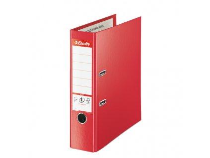 Pořadač pákový celoplastový Vivida PLUS - A4 / hřbet 8 cm / červená