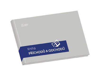 Kniha příchodů a odchoců - pevné desky - A4 / 100 listů