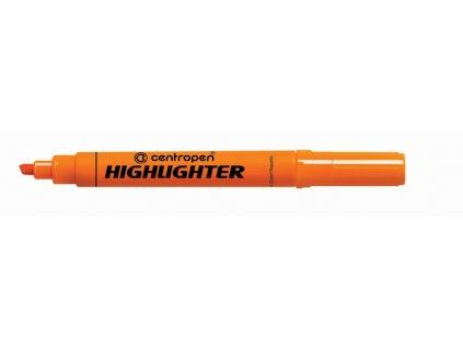 Zvýrazňovač Centropen 8552 HIGHLIGHTER - oranžová