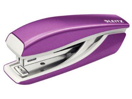 Kancelářský sešívač Leitz mini 5528 - metalická fialová