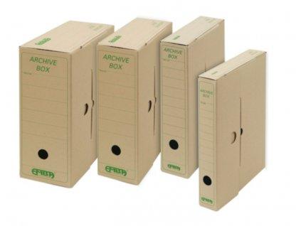 Box archivní Emba - 33 cm x 26 cm x 7,5 cm