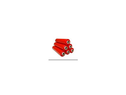 Fólie smršťovací barevná - šíře 50 cm / 2,2 kg / 23 my / červená