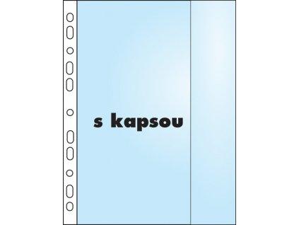 Závěsný obal Copy s kapsou - B4 matný / 110 my / 50 ks