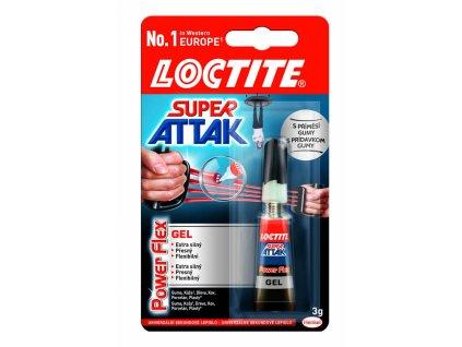 Vteřinová lepidla Loctite - Super Attak 3 g