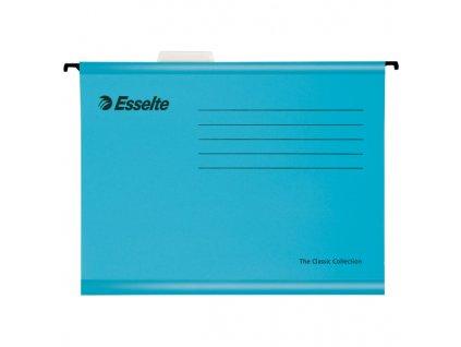 Závěsné desky Esselte Classic Collection - modrá