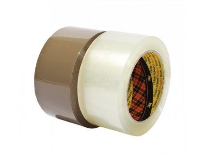 Balicí pásky Scotch NEHLUČNÉ - 48 mm x 66 m / transparentní