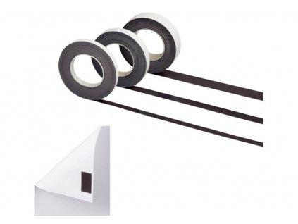 Magnetické pásky samolepicí - 10 mm x 10 m